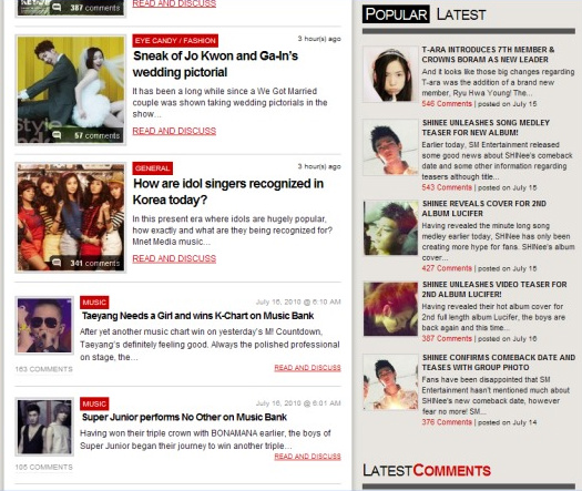 SHINee Taking Up All 4 (out Of 5) Top Stories On AKP