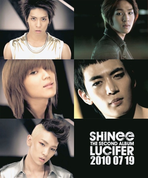 SHINee TEASER- 2nd Album Lucifer [FULL]